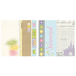 Simple Stories - Enchanted Collection - 12 x 12 Double Sided Paper - 2 x 12, 4 x 12 and 6 x 12 Elements