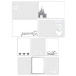 Simple Stories - Enchanted Collection - Photo Overlays with Foil Accents
