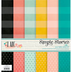 Simple Stories - I AM Collection - 12 x 12 Simple Basics Kit