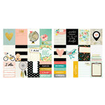 Simple Stories - I AM Collection - 12 x 12 Double Sided Paper - 3 x 4 Journaling Card Elements
