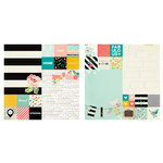 Simple Stories - I AM Collection - 12 x 12 Double Sided Paper - 2 x 2 and 6 x 8 Elements