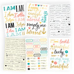 Simple Stories - I AM Collection - Cardstock Stickers