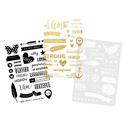 Simple Stories - I AM Collection - Photo Stickers