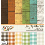 Simple Stories - Pumpkin Spice Collection - 12 x 12 Simple Basics Kit