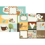 Simple Stories - Pumpkin Spice Collection - 12 x 12 Double Sided Paper - 4 x 4 Elements