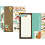 Simple Stories - Pumpkin Spice Collection - 12 x 12 Double Sided Paper - 2 x 12, 4 x 12 and 6 x 12 Elements