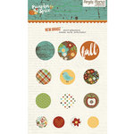 Simple Stories - Pumpkin Spice Collection - Decorative Brads