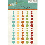 Simple Stories - Pumpkin Spice Collection - Enamel Dots