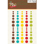 Simple Stories - We Are Family Collection - Enamel Dots