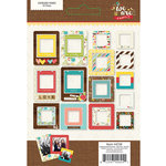 Simple Stories - We Are Family Collection - Chipboard Frames