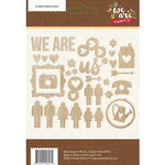 Simple Stories - We Are Family Collection - Wood Veneer Pieces