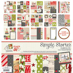 Simple Stories - Claus and Co Collection - Christmas - 12 x 12 Collection Kit