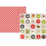 Simple Stories - Claus and Co Collection - Christmas - 12 x 12 Double Sided Paper - I Believe