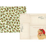 Simple Stories - Claus and Co Collection - Christmas - 12 x 12 Double Sided Paper - Ho Ho Ho