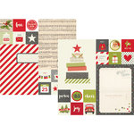 Simple Stories - Claus and Co Collection - Christmas - 12 x 12 Double Sided Paper - 2 x 2 and 6 x 8 Elements