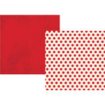 Simple Stories - Claus and Co Collection - Christmas - 12 x 12 Double Sided Paper - Red Dots