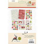 Simple Stories - Claus and Co Collection - Christmas - 4 x 6 Stickers