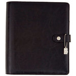 Simple Stories - Carpe Diem Collection - A5 Planner - Black
