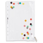 Simple Stories - Carpe Diem Collection - Plastic Storage Pouch