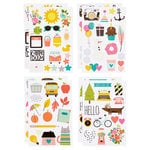 Simple Stories - SNAP Collection - Carpe Diem - Cardstock Stickers - Illustrated Life