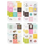 Simple Stories - SNAP Collection - Carpe Diem - Cardstock Stickers - Insta Quote