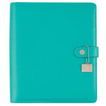 Simple Stories - Carpe Diem - Posh Collection - A5 Planner - Aqua