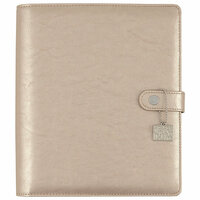 Carpe Diem - Posh Collection - A5 Planner - Platinum