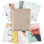 Simple Stories - Carpe Diem Collection - Posh - A5 Planner - Boxed Set - Platinum