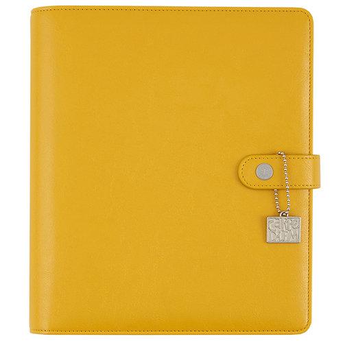 Simple Stories - Carpe Diem - Posh Collection - A5 Planner - Marigold