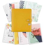 Simple Stories - Carpe Diem Collection - Posh - A5 Planner - Boxed Set - Marigold - Undated