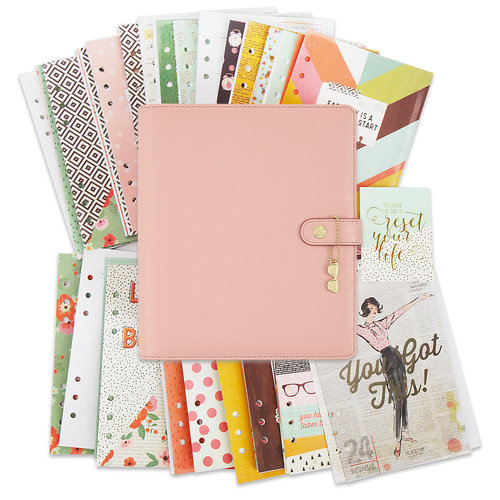 Simple Stories - Carpe Diem Collection - The Reset Girl - A5 Planner - Boxed Set - Ballerina - Undated