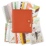 Simple Stories - Carpe Diem Collection - The Reset Girl - A5 Planner - Boxed Set - Persimmon