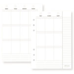 Simple Stories - Carpe Diem - Planner Essentials - Weekly Inserts - Vertical Format - Undated