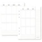 Simple Stories - Carpe Diem - Planner Essentials - Weekly Inserts - Vertical Format
