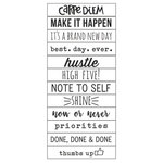 Simple Stories - Carpe Diem - Planner Essentials - Roller Stamp - Make It Happen
