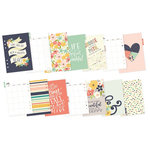 Simple Stories - Carpe Diem - Posh Collection - Monthly Inserts