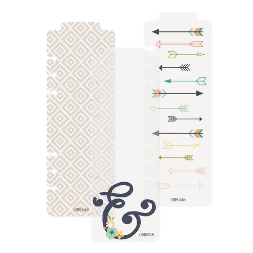 Simple Stories - Carpe Diem - Posh Collection - Bookmarks