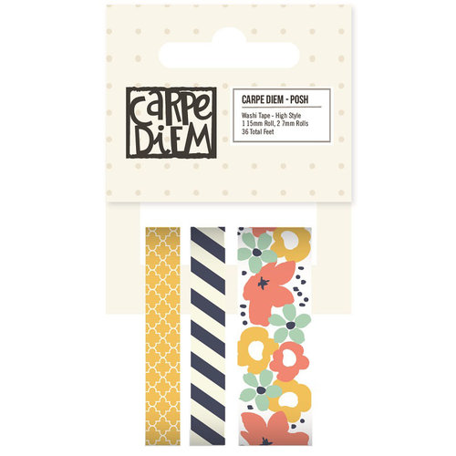 Simple Stories - Carpe Diem Collection - Posh - Washi Tape - High Style