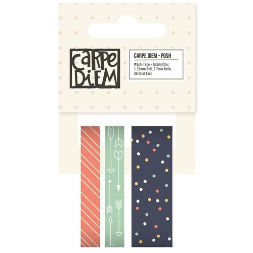 Simple Stories - Carpe Diem - Posh Collection - Washi Tape - Totally Chic