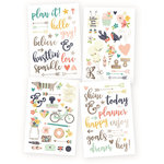 Simple Stories - Carpe Diem Collection - Posh - Cardstock Stickers - Designer