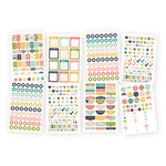 Simple Stories - Carpe Diem - Posh Collection - Cardstock Stickers - Planner Basics