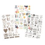 Simple Stories - Carpe Diem - Posh Collection - Clear Stickers