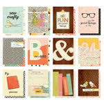 Simple Stories - Carpe Diem - The Reset Girl Collection - 3 x 4 Pocket Cards
