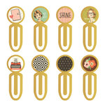 Simple Stories - Carpe Diem - The Reset Girl Collection - Metal Clips