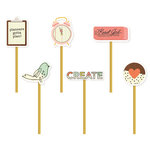 Simple Stories - Carpe Diem - The Reset Girl Collection - Decorative Clips
