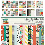Simple Stories - Life In Color Collection - 12 x 12 Collection Kit