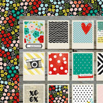 Simple Stories - Life In Color Collection - 12 x 12 Double Sided Paper - Here and Now