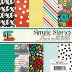 Simple Stories - Life In Color Collection - 6 x 6 Paper Pad