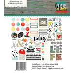 Simple Stories - Life In Color Collection - Bits and Pieces