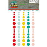 Simple Stories - Life In Color Collection - Enamel Dots